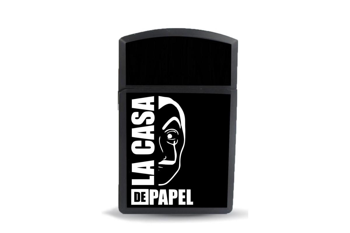 ckm13 La Casa De Papel Model Figürlü Zippo Tarz Çakmak