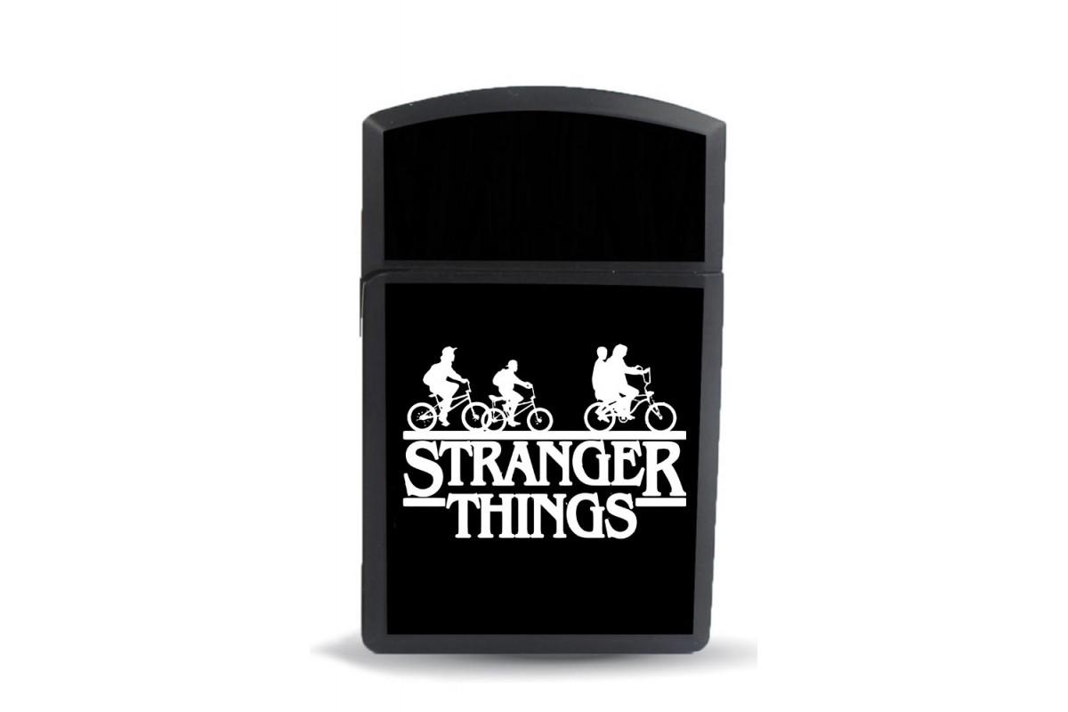 ckm15 Stranger Things Model Figürlü Zippo Tarz Çakmak