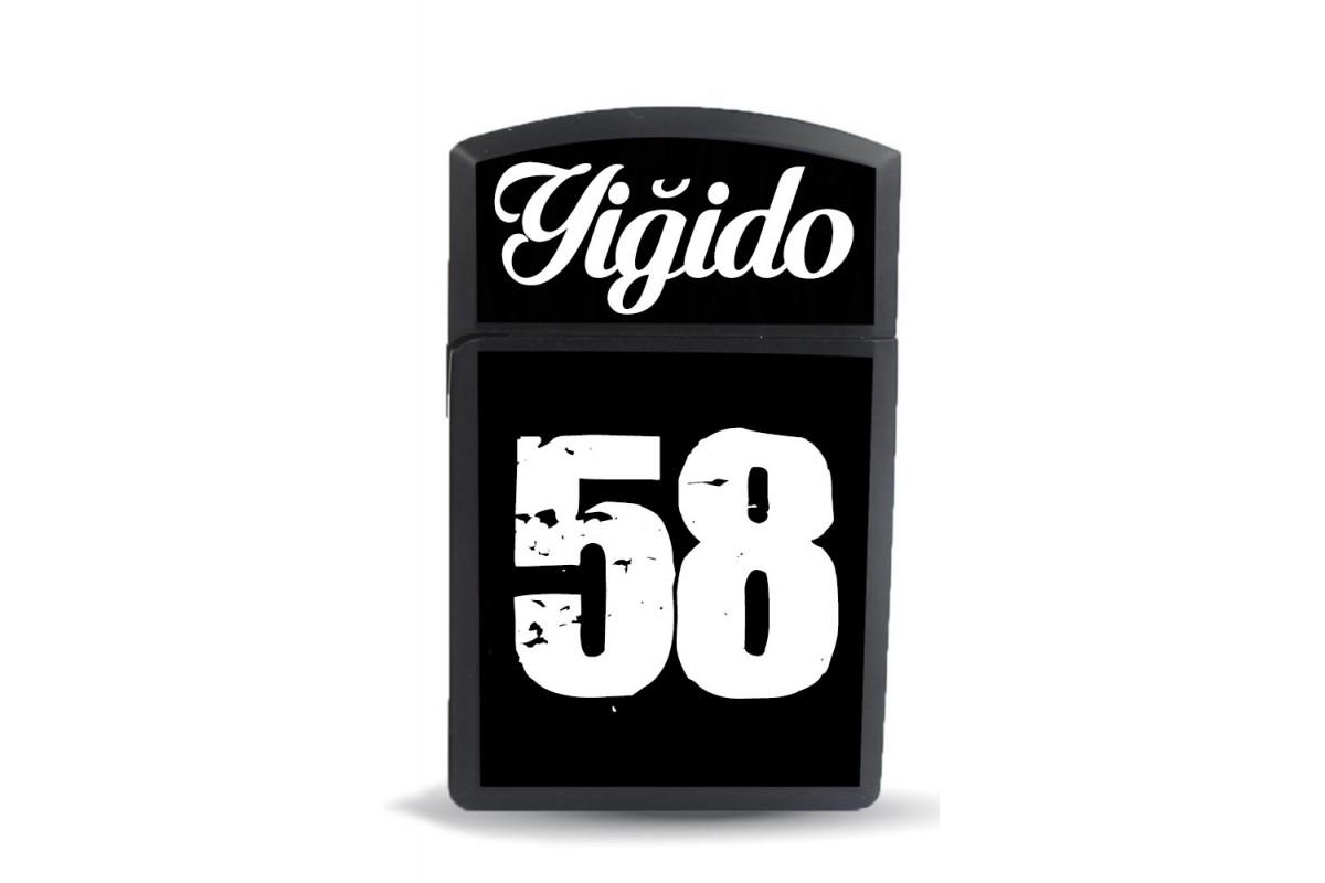 ckm30 Yiğido 58 Zippo Tarz Model Figürlü Çakmak