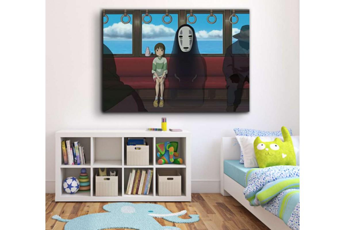 srco6 - Sprited Away Anime Temalı Kanvas Tablo