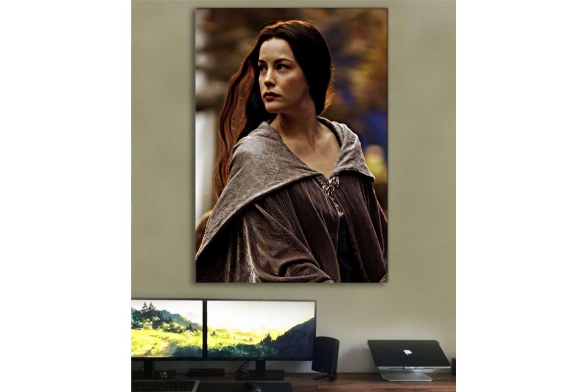 srye44 - Lady Arwen, Yüzüklerin Efendisi, Lord of the Rings Kanvas Tablo