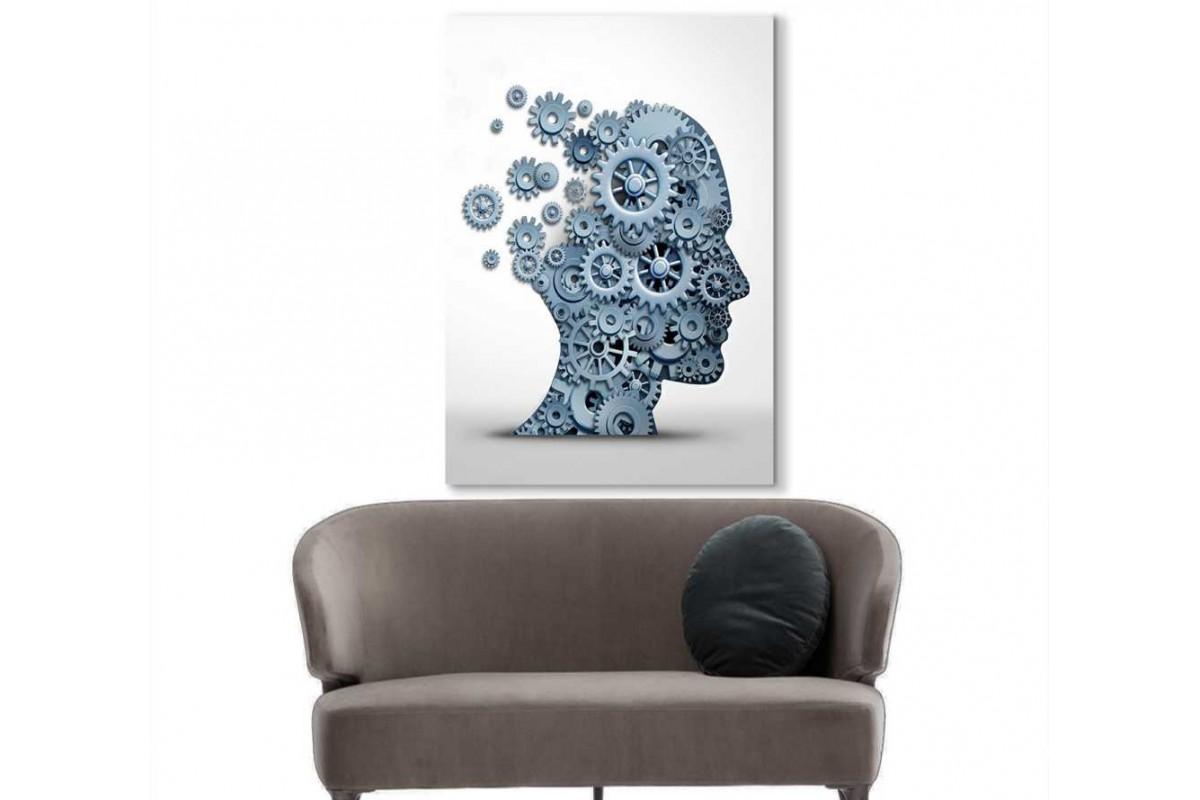 spsk7 - Beynin Çarkları Psikoloji, Psikolog, Psikolojik Danışman kanvas tablo