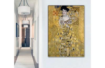 srgk3 - Gustav Klimt - Adele Kanvas Tablo