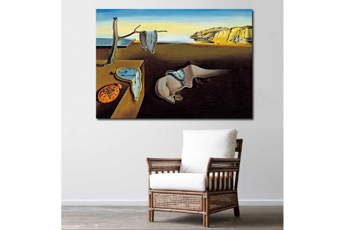 srsd10 - Salvador Dali Persistence of Time - Zamanın Azmi Sürrealis kanvas tablo
