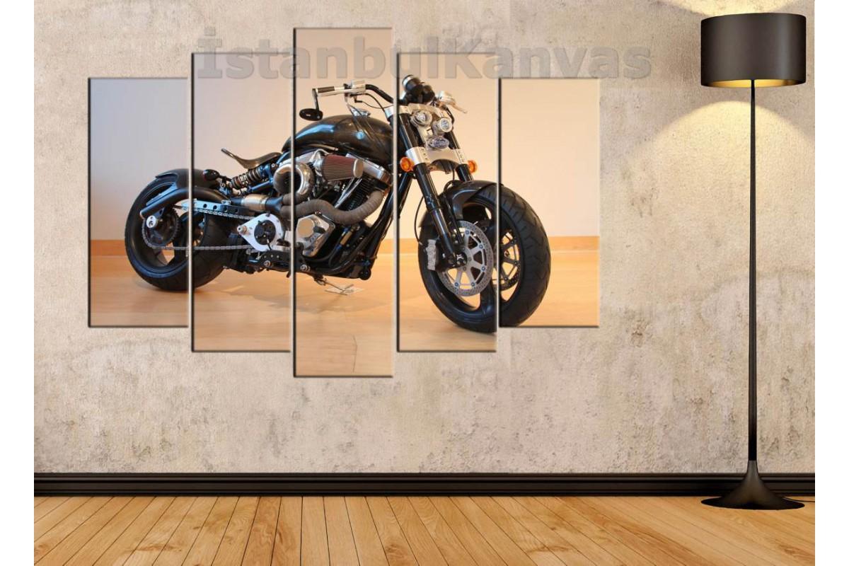 sm24 - Özel Tasarım Konsept Motosiklet Kanvas Tablo