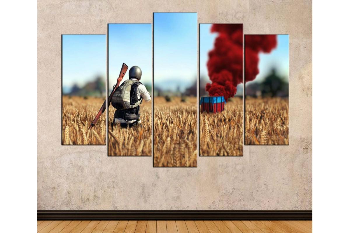spubg2 - PUBG oyunu - Playerunknowns Battlegrounds Kanvas Tablo