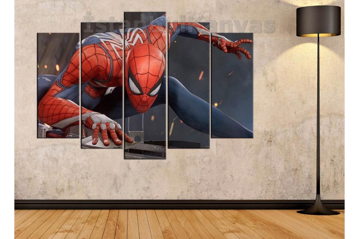 srsh22b - Örümcek Adam, Spiderman, Süper kahraman, Çizgi roman kanvas tablo