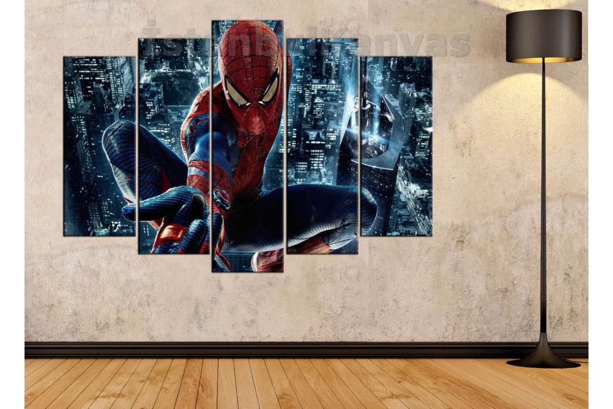 srsh23b - Örümcek Adam, Spiderman, Süper kahraman, Çizgi roman kanvas tablo