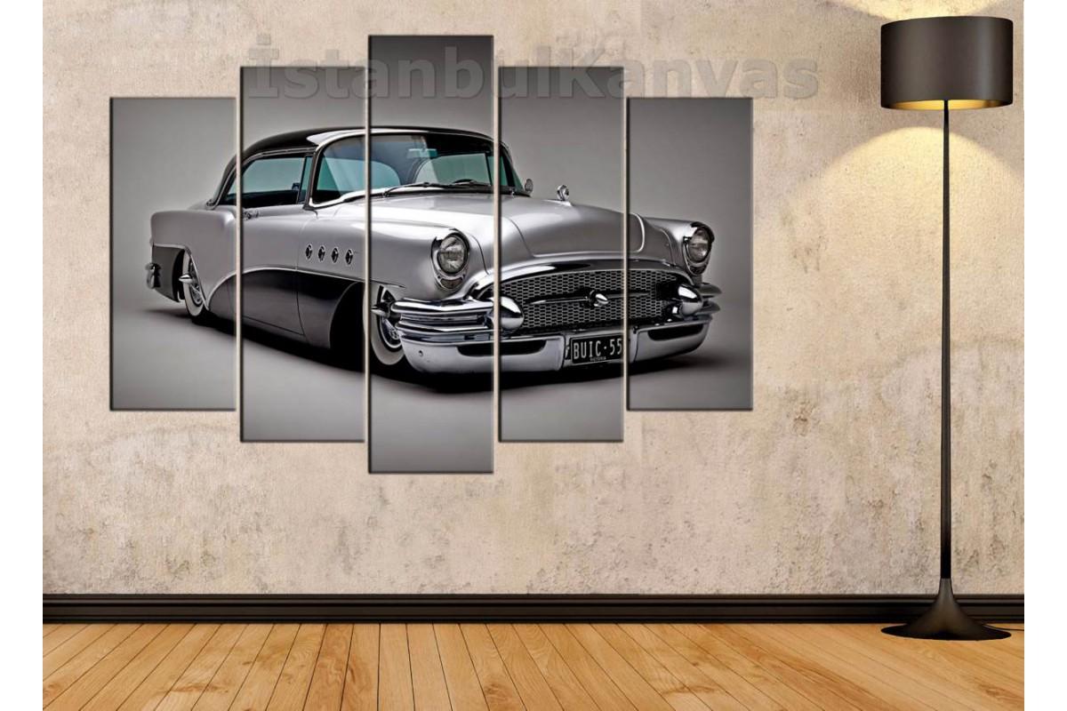 Srvc10 Modifiyeli Konsept Klasik Araba Vintage Otomobil Kanvas Tablo