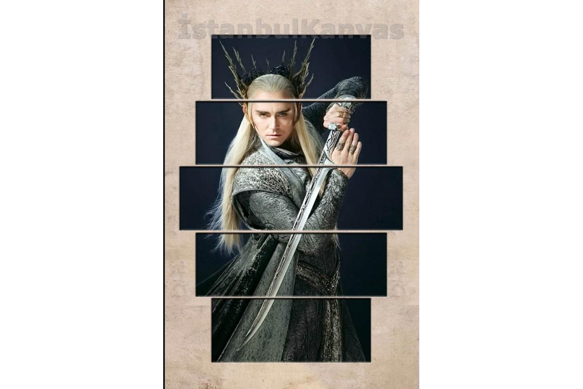 srye08 -KRAL THRANDUIL - Yüzüklerin Efendisi (Lord of the rings) Kanvas Tablo