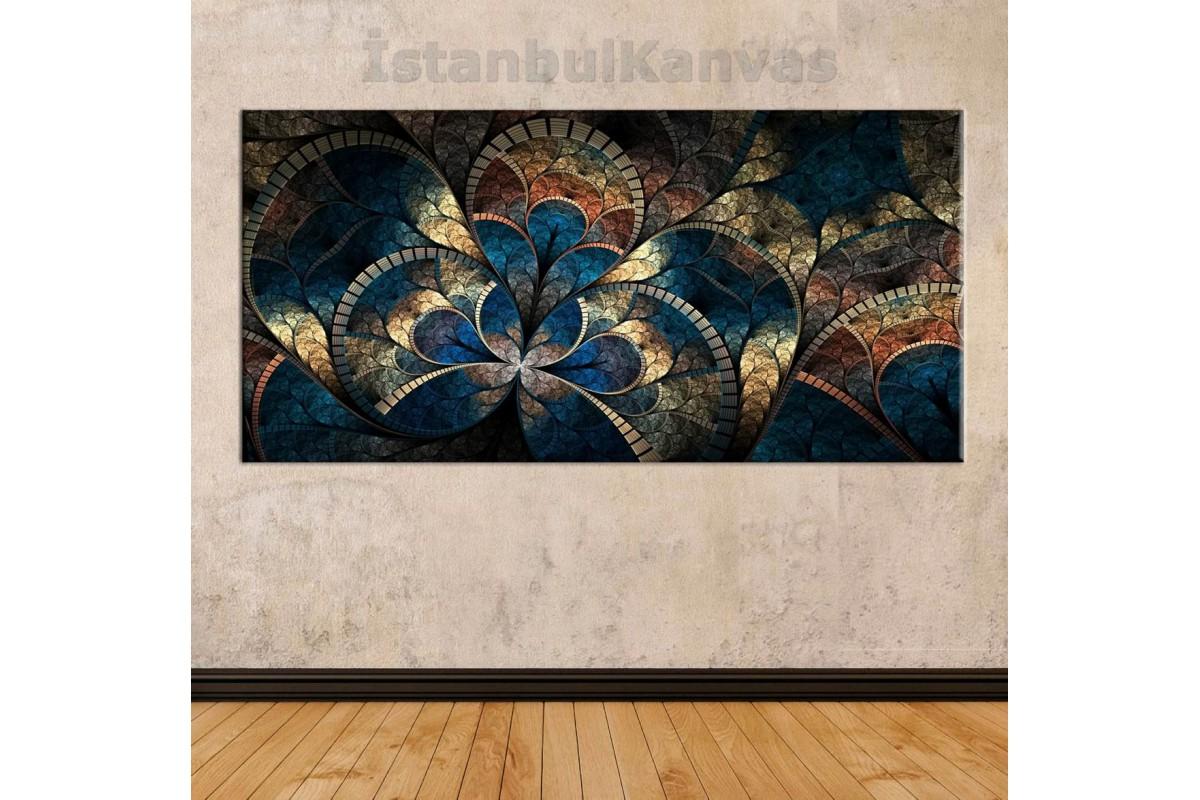 sye26 - Dekoratif Soyut Kanvas Tablo