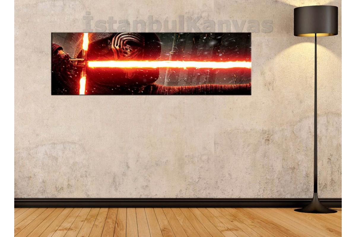 wsh33 - Kylo Ren - Star Wars (Yıldız Savaşları) kanvas tablo 80x25cm