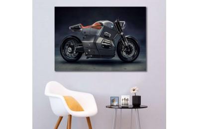 sm07 - BMW Konsept Motosiklet Kanvas Tablo