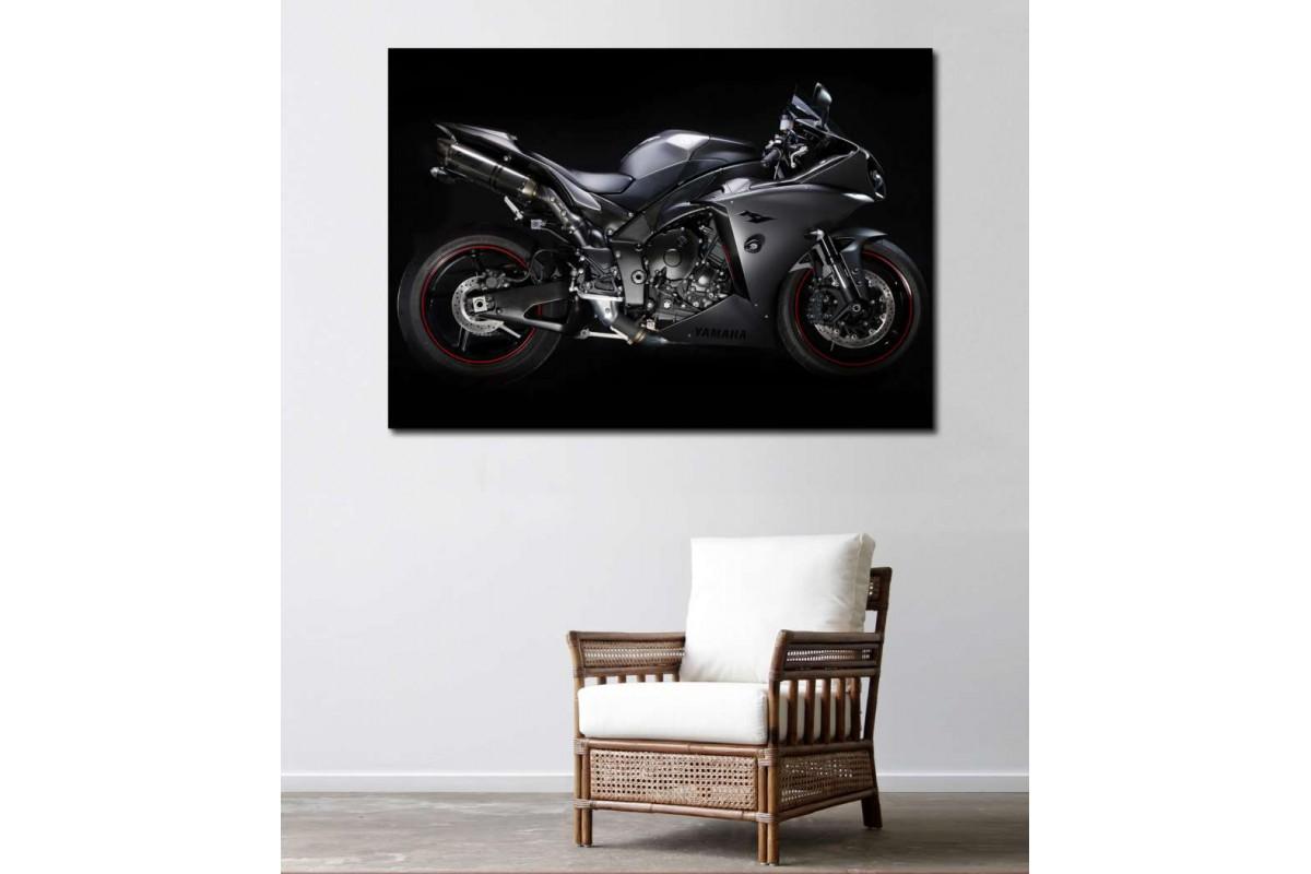 sm30 - Yamaha Superbike Motosiklet Kanvas Tablo