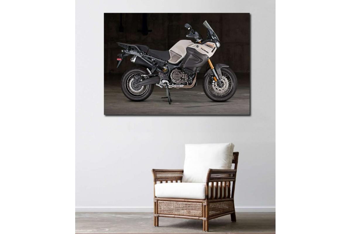 sm31 - Yamaha Tenere Motosiklet Kanvas Tablo