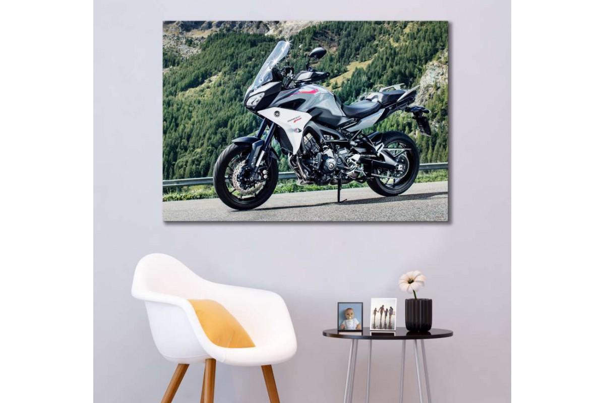 sm33 - Yamaha Tracer Motosiklet Kanvas Tablo