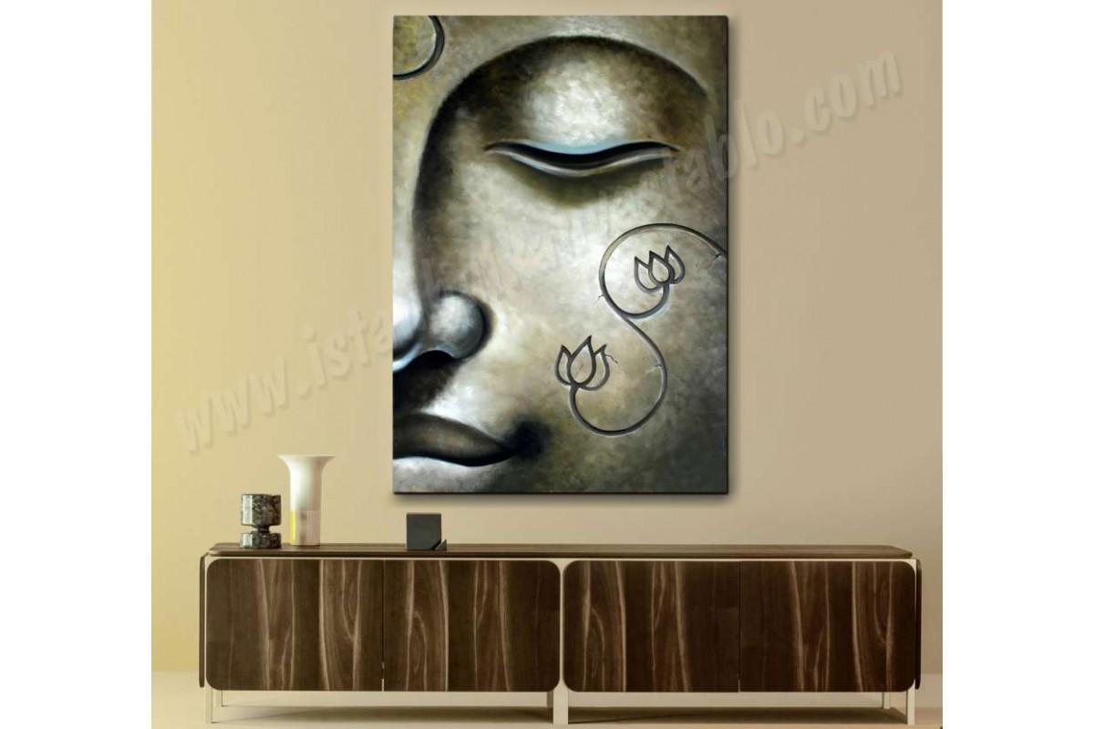 srbu2 - Uzak Doğu ve Buddha, Buda Heykeli kanvas tablo