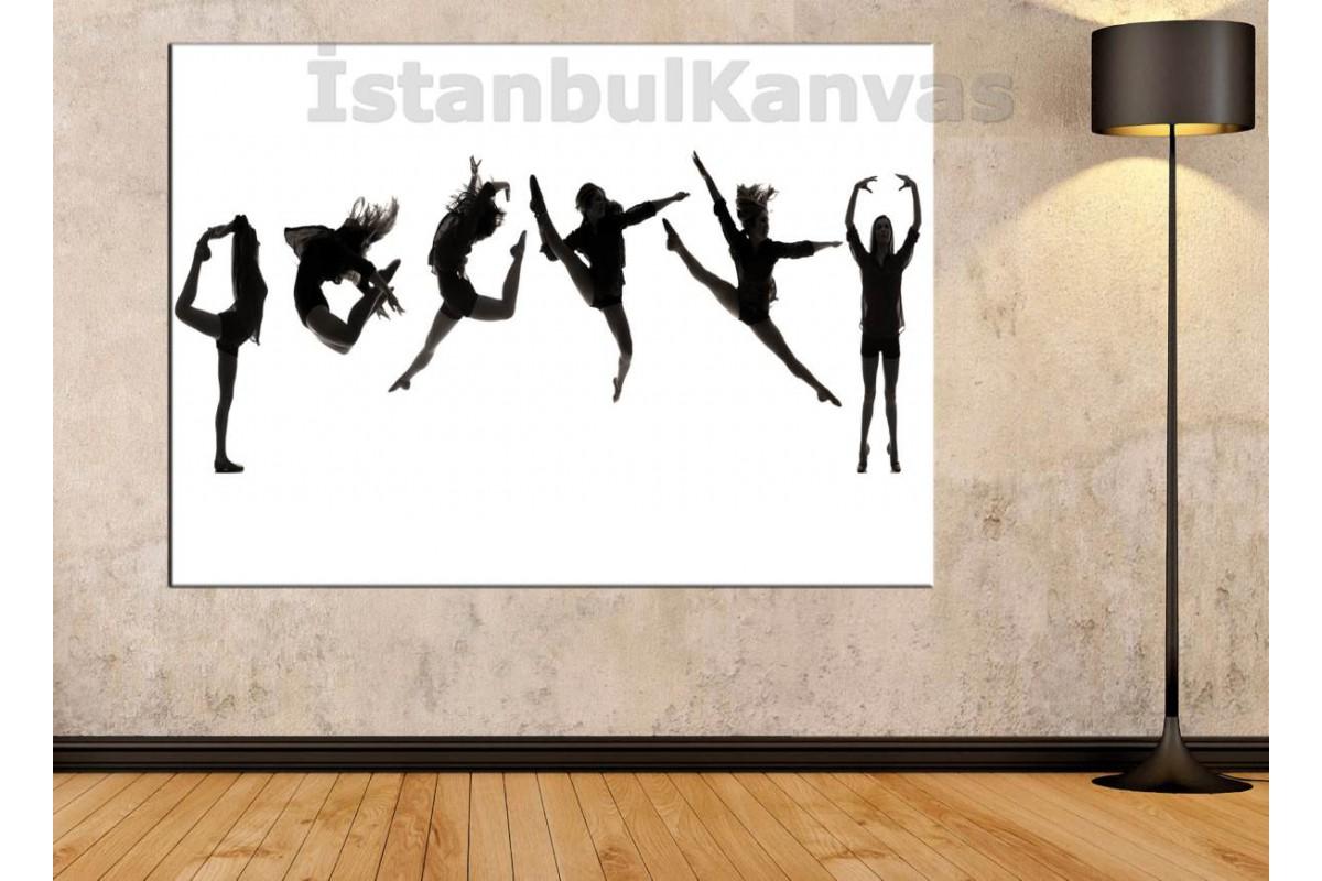 Srd13 - Modern Dansçı Kız Kanvas Tablo