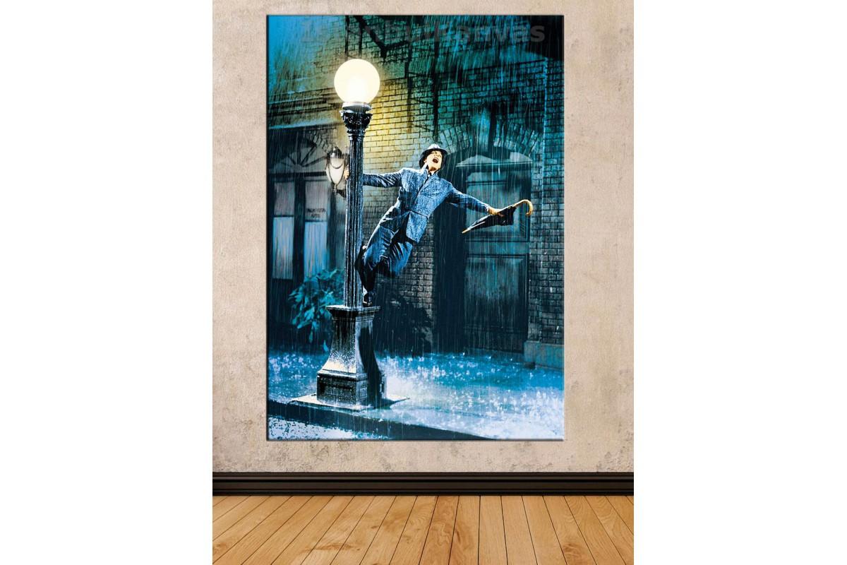 Srd25 - Frank Sinatra Dans Singing İn The Rain Kanvas Tablo