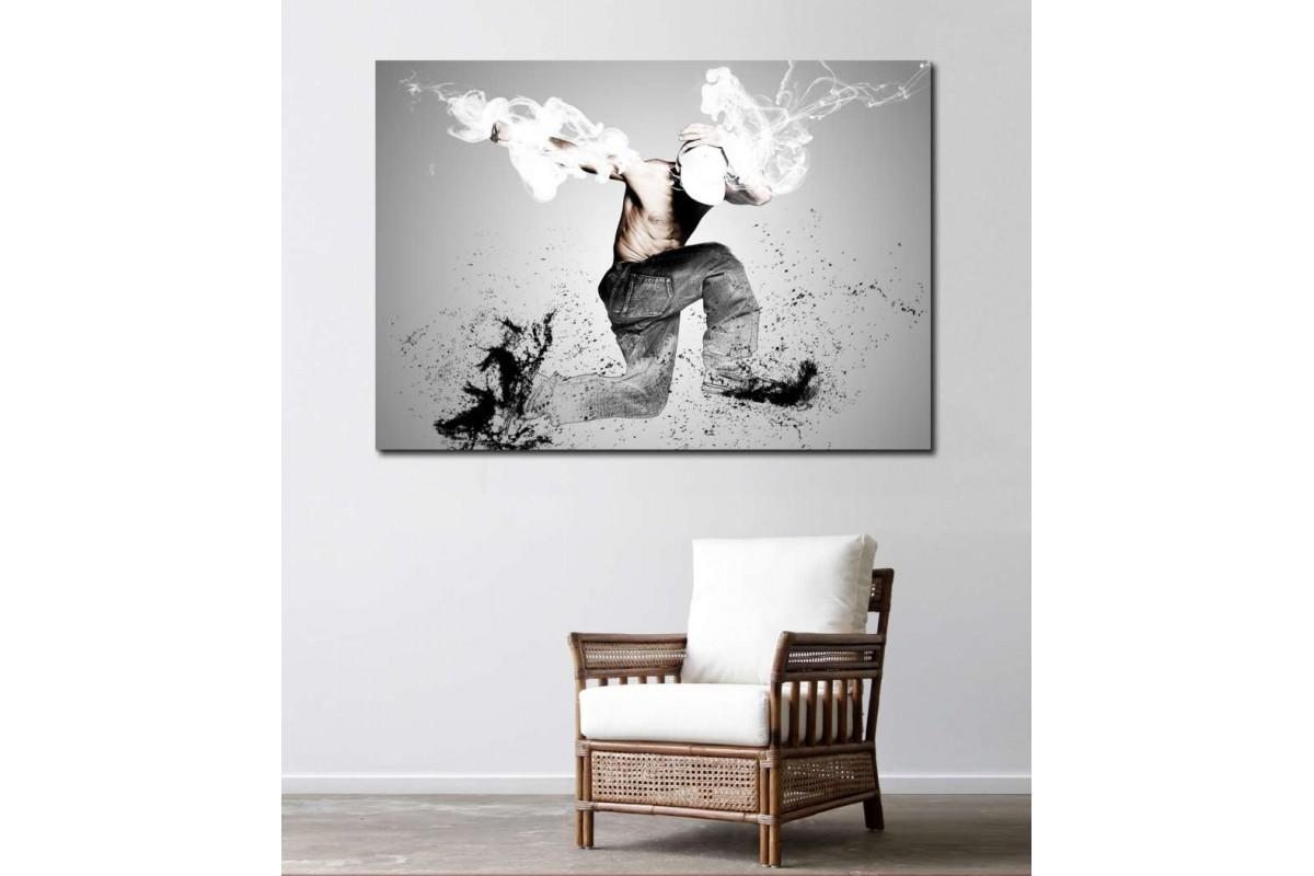 srd6 - Modern Dans Kanvas Tablo