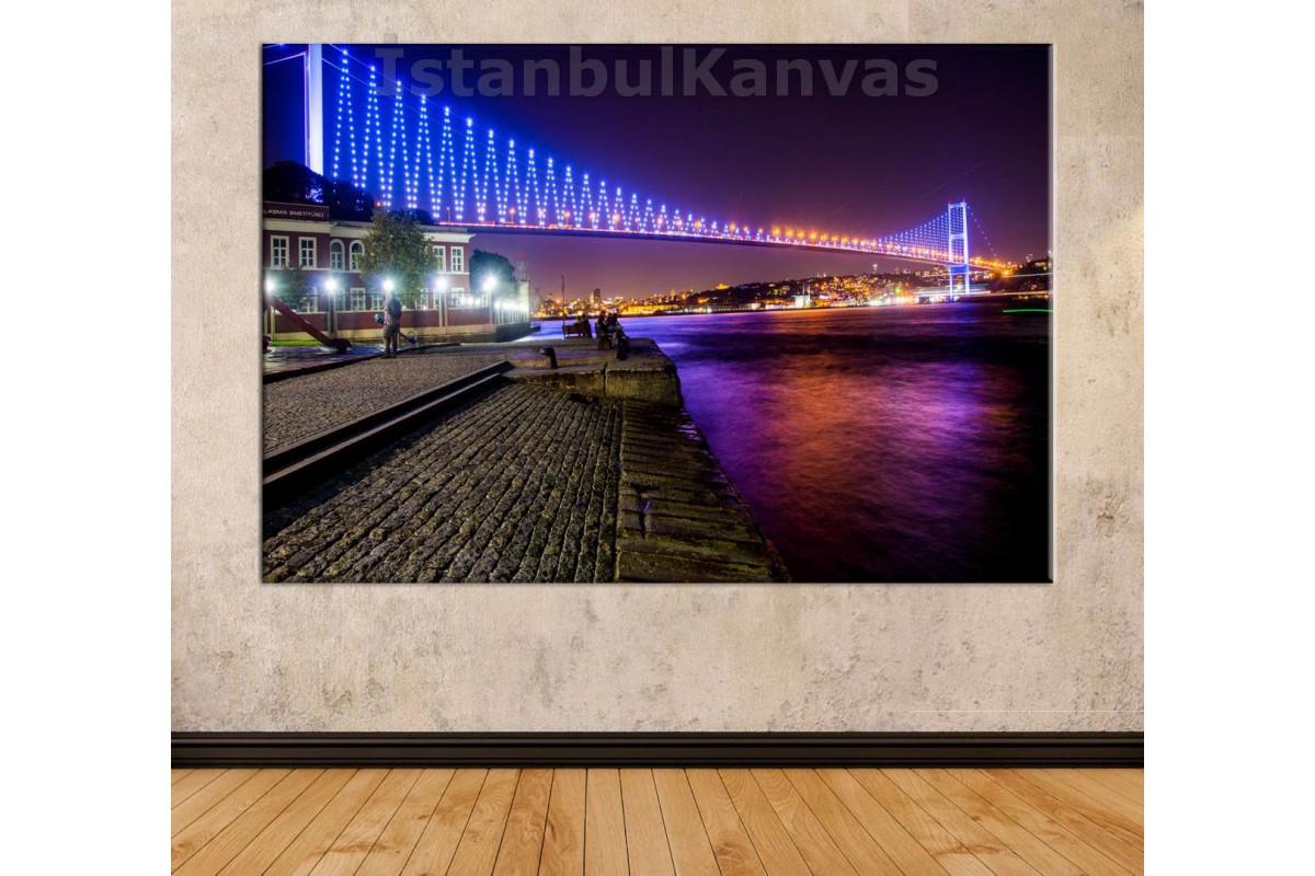 Srk20 - İstanbul (15 Temmuz) Boğaz Köprüsü Manzaralı Kanvas Tablo