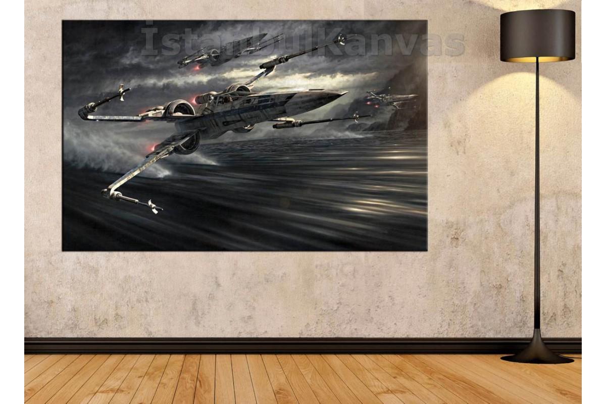 Srksw20 - Star Wars (Yıldız Savaşları) X-Wıng Squadron Kanvas Tablo