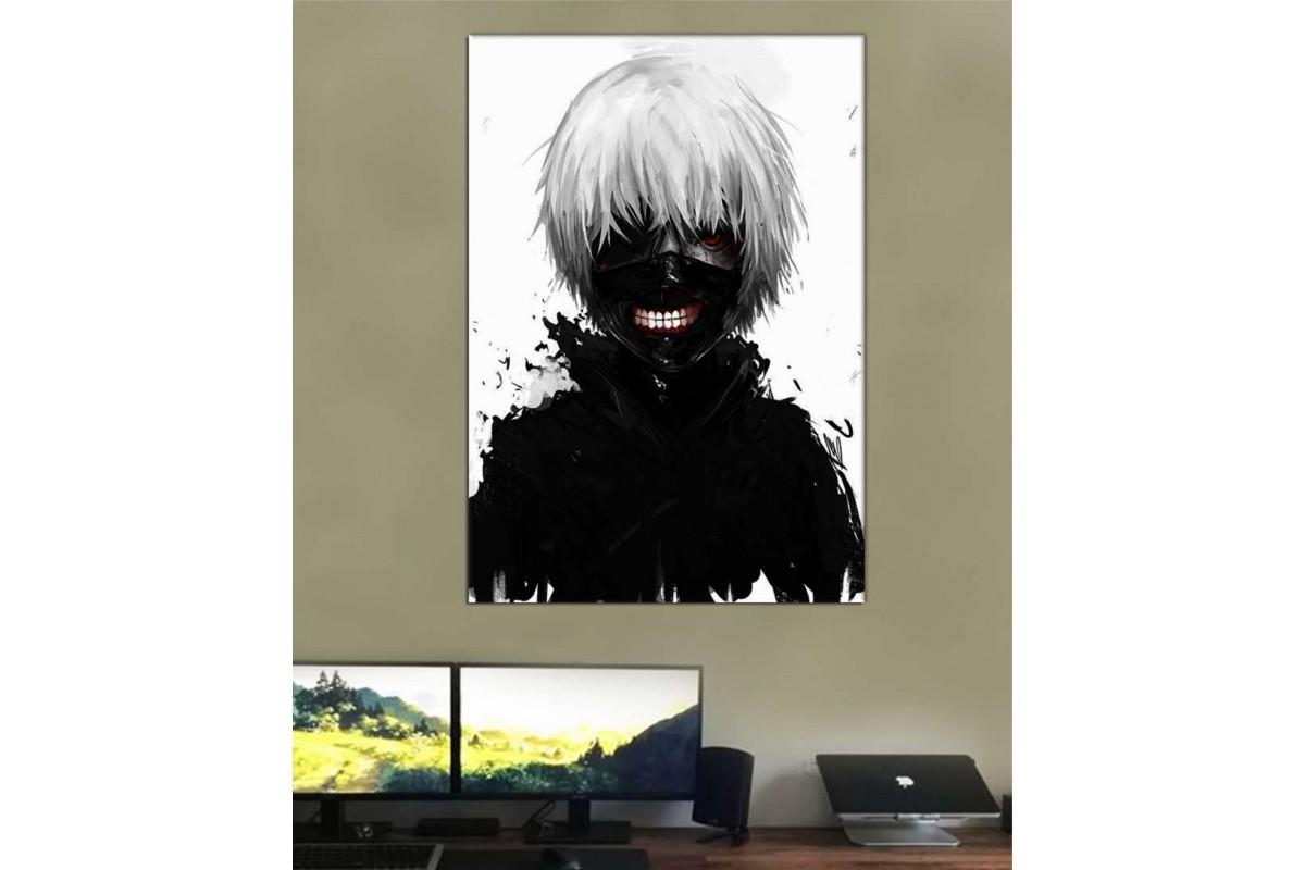 srmn1 - Tokyo Ghoul Kaneki Ken Anime Kanvas Tablo
