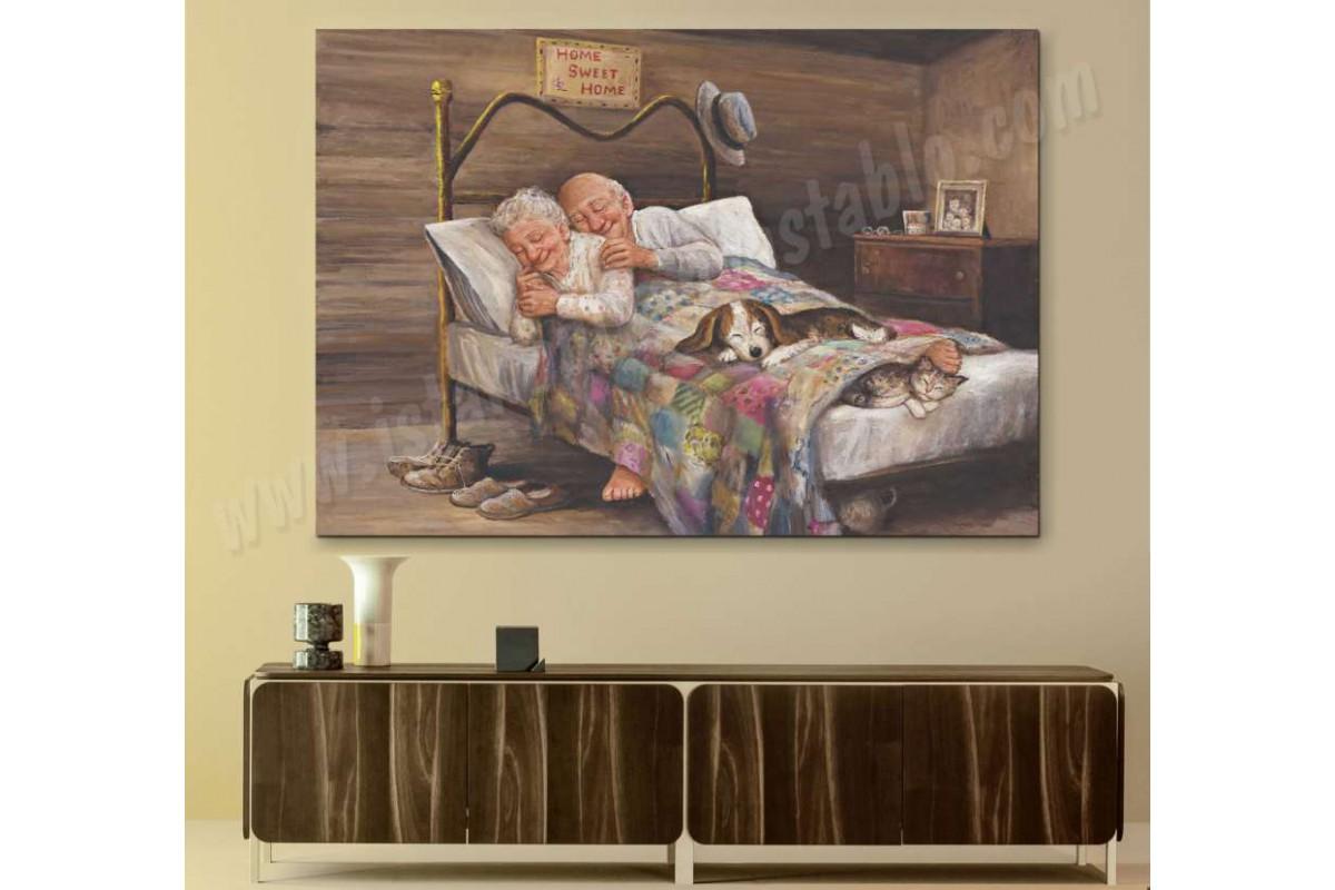 srmr1 - Dianne Dengel - No Place Like Home Mutluluğun resmi Kanvas Tablo