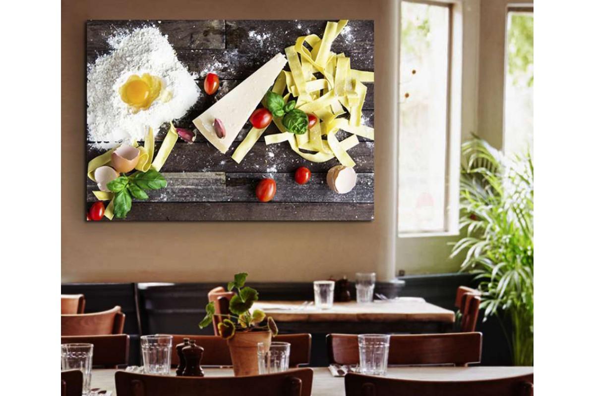 srrs14 - Makarna ve Hamur İşleri Cafe Restoran Kanvas Tablo