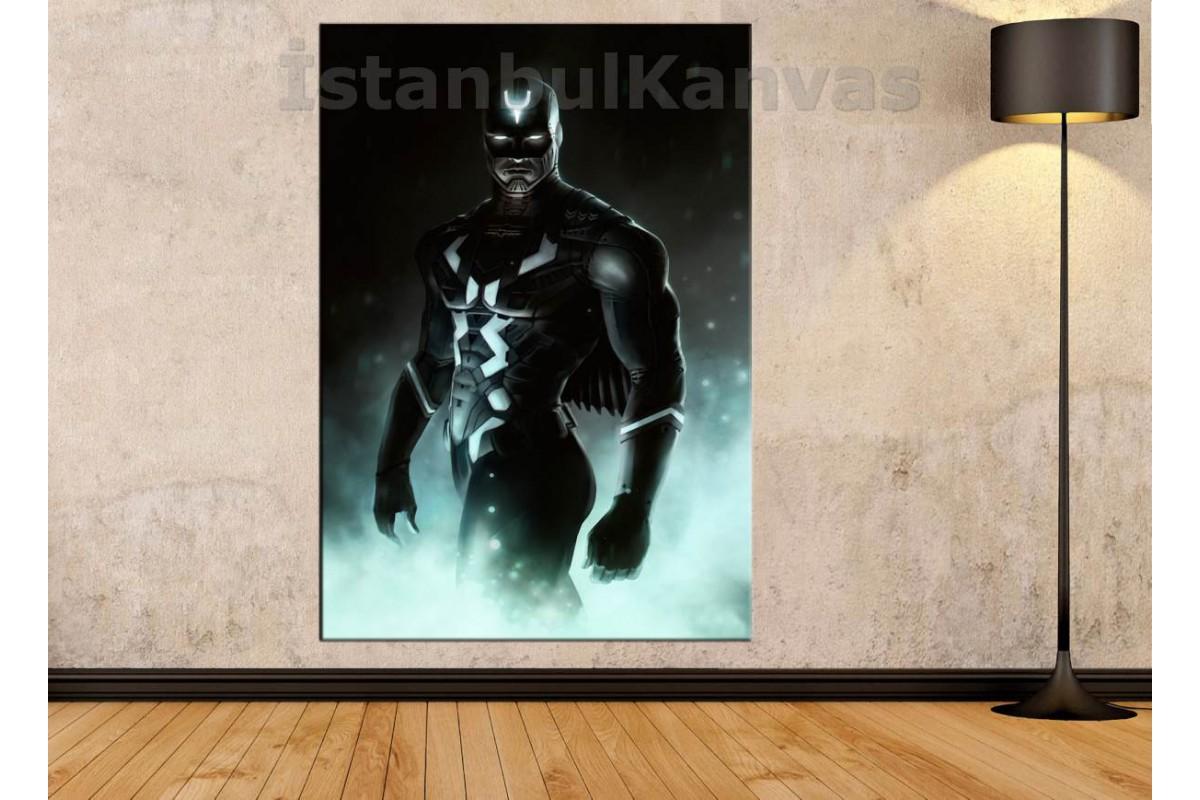 Srsh19 - Black Bolt - İnhumans Kanvas Tablo
