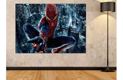 Srsh23 - Örümcek Adam, Spiderman, Süper Kahraman, Çizgi Roman Kanvas Tablo