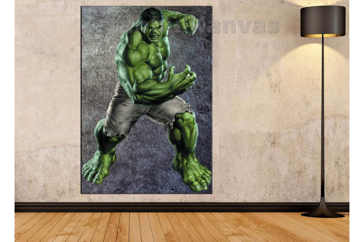 Srsh3 - En Güçlü Yenilmez Hulk Kanvas Tablo