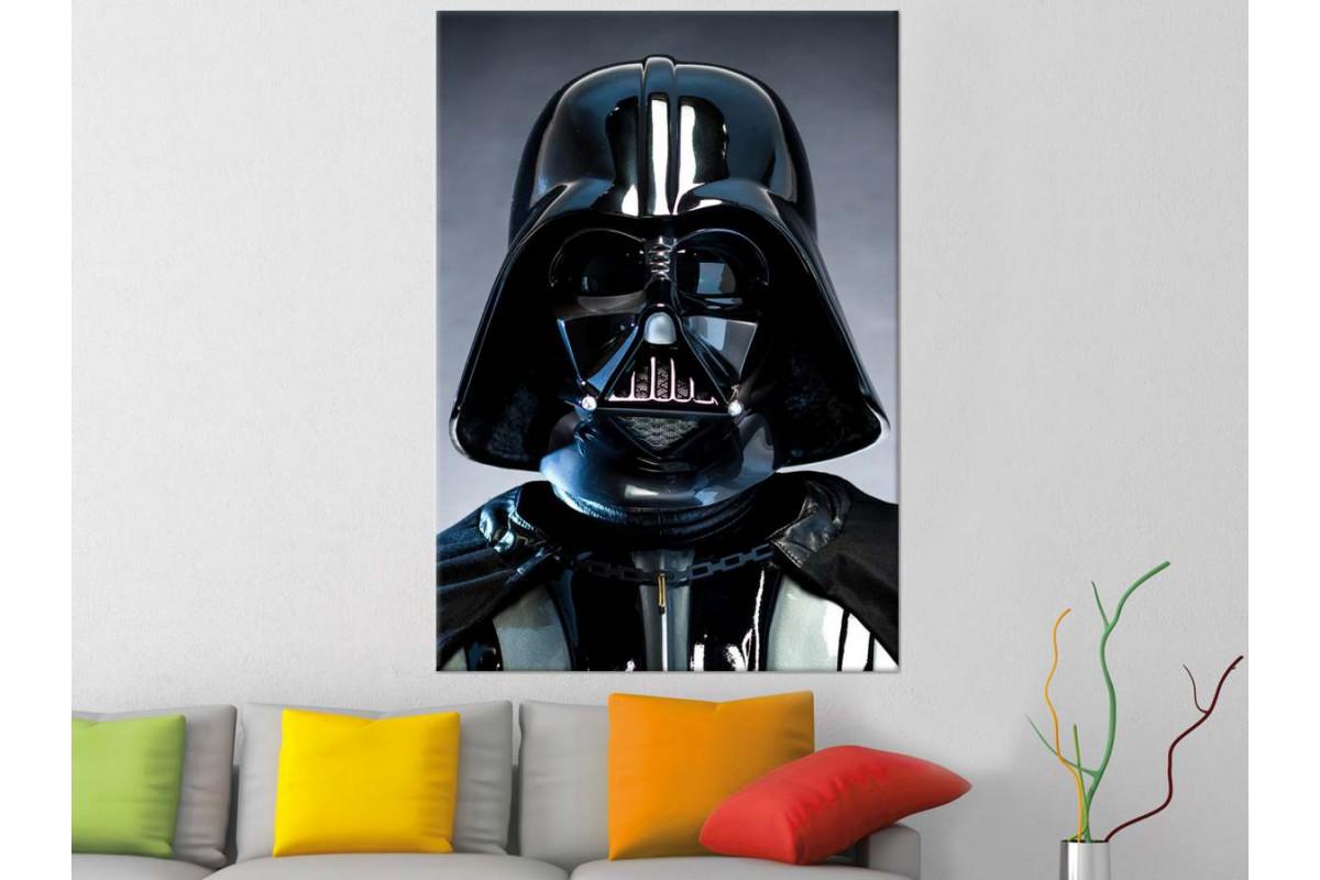 srsh35 - STAR WARS, Yıldız Savaşları Darth Vader Kanvas Tablo