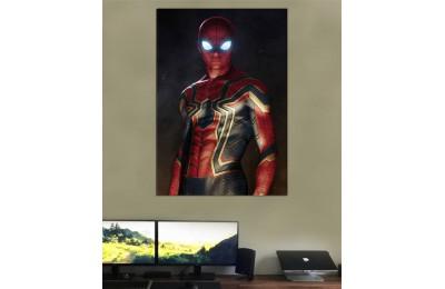 srsh48 - Spiderman, Örümcek Adam, Iron Spider Kanvas Tablo