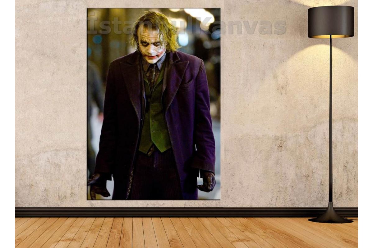 Srsh6 - Joker (Heath Ledger) Kanvas Tablo