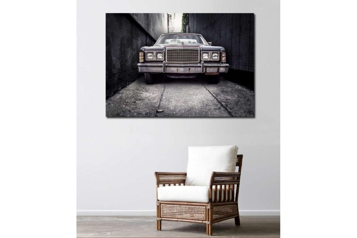 srvc17 - Ford Klasik Otomobil Kanvas Tablo