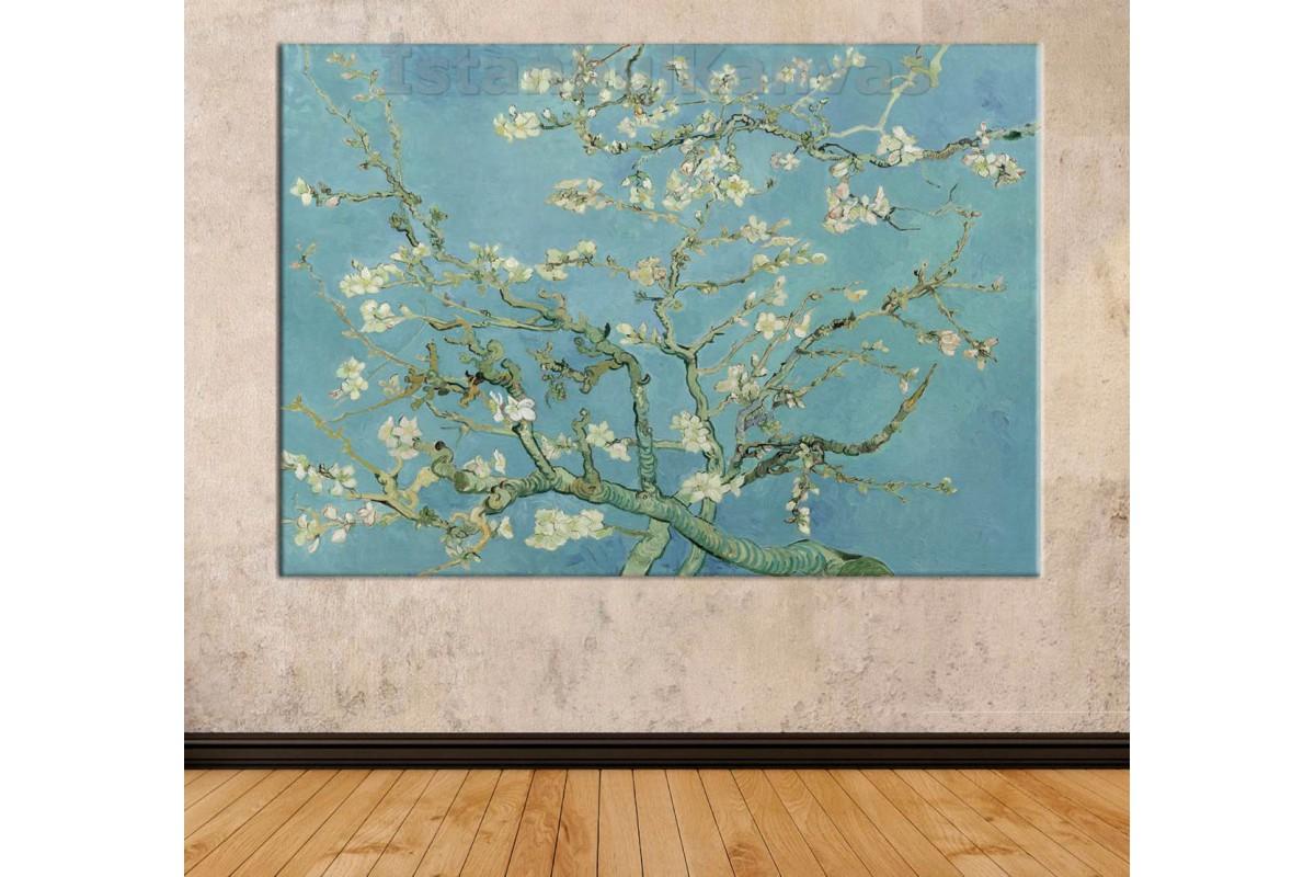 Srvg1 - Badem Çiçekleri - Vincent Van Gogh (Almond Blossom) Kanvas Tablo