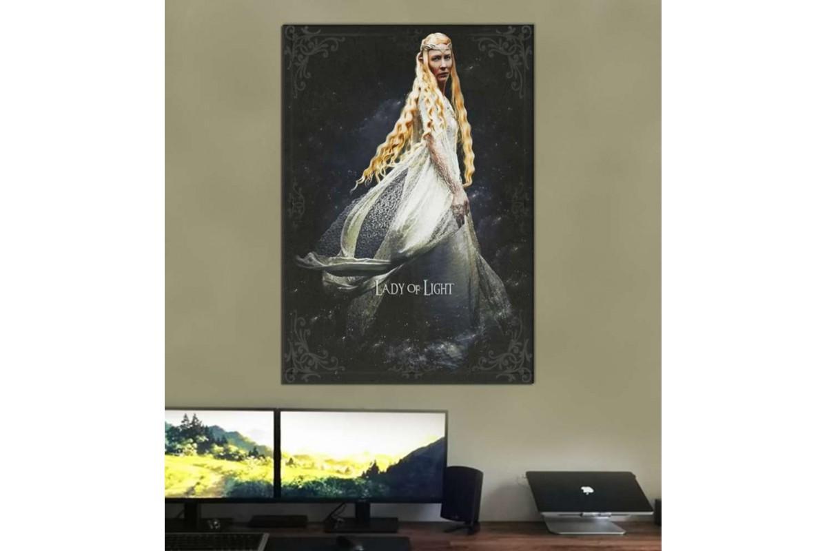 srye13 - LEYDİ GALADRIEL - Yüzüklerin Efendisi (LORD OF THE RINGS) Kanvas Tablo