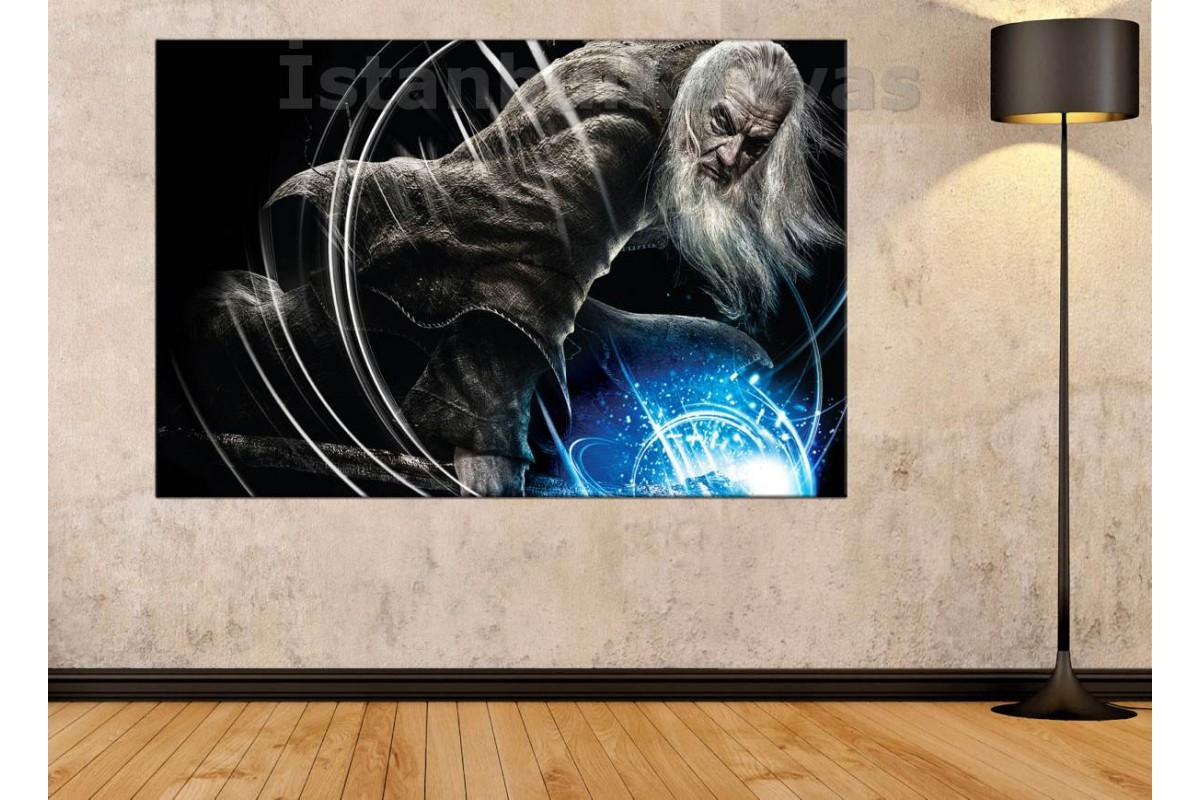 Srye98 - Gandalf - Yüzüklerin Efendisi - Lotr - Lord Of The Rings - Kanvas Tablo