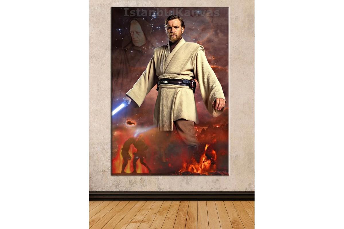 Sww16 - Obi-Wan Kenobi - Star Wars (Yıldız Savaşları) Kanvas Tablo