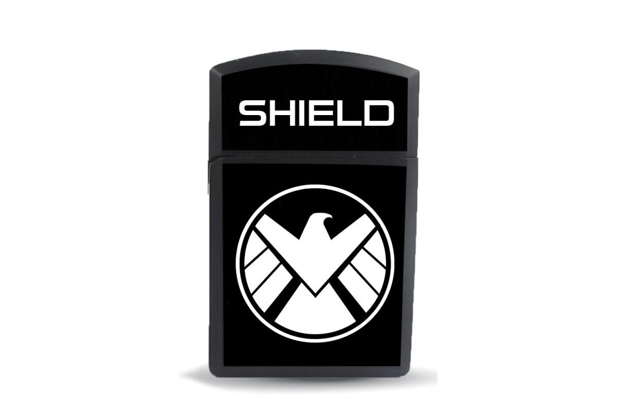 ckm7 Shield Model Figürlü Zippo Tarz Çakmak