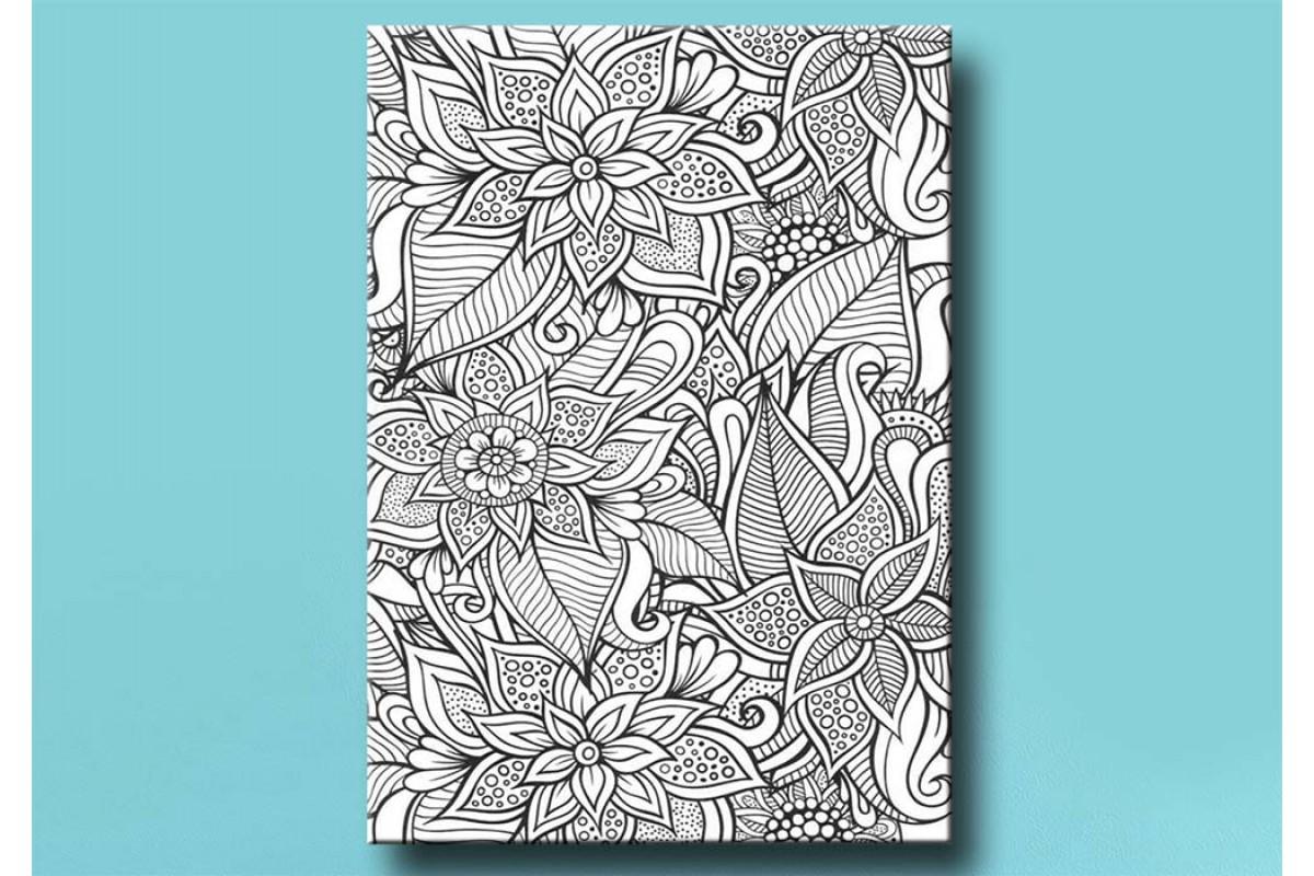 Yetişkinler İçin renkli boyama Tablo bym147 (boyama kalem seti hediyeli)