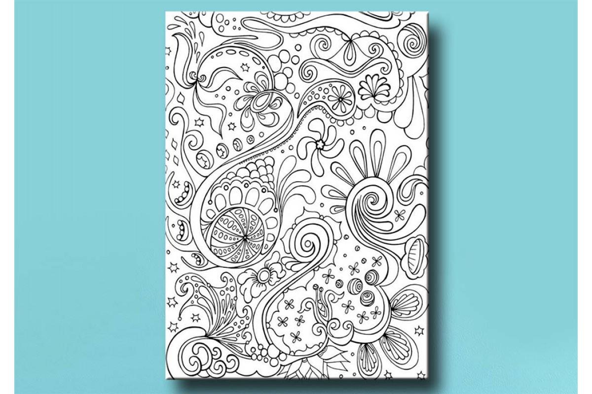Yetişkinler İçin renkli boyama Tablo bym151 (boyama kalem seti hediyeli)