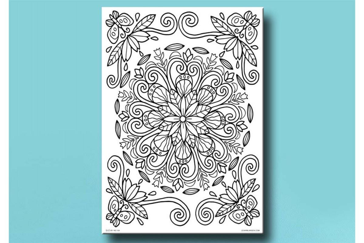 Yetişkinler İçin renkli boyama Tablo bym152 (boyama kalem seti hediyeli)
