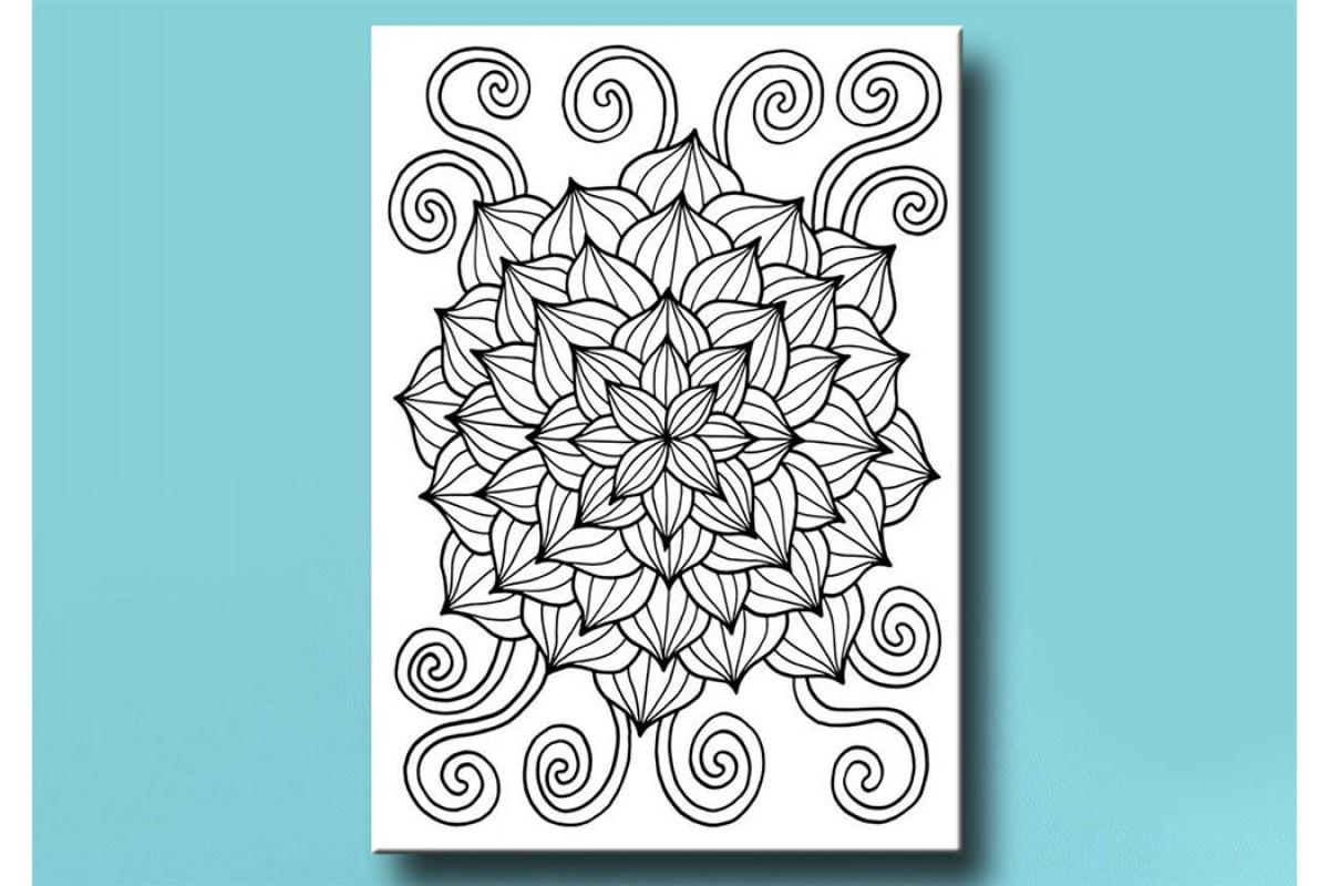 Yetişkinler İçin renkli boyama Tablo bym168 (boyama kalem seti hediyeli)