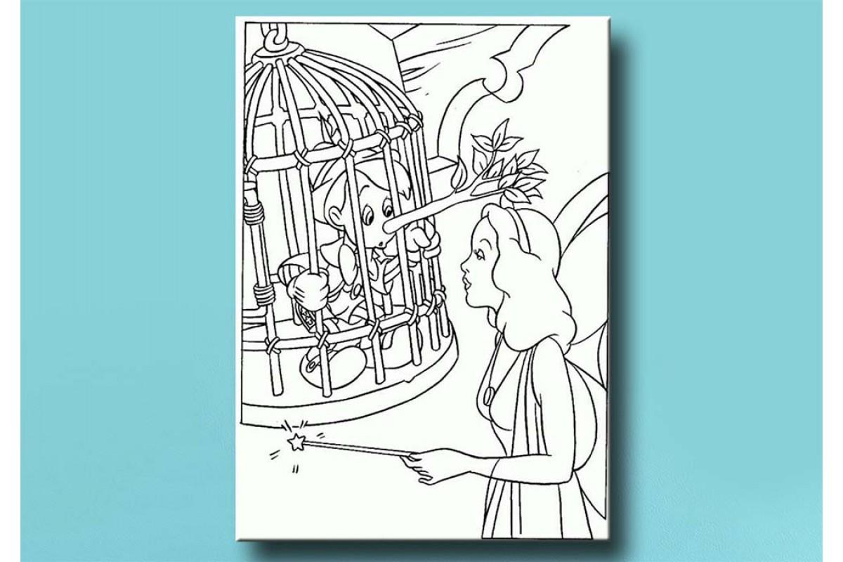 Çocuklar için renkli boyama tablo bym43 (boyama kalem seti hediyeli)
