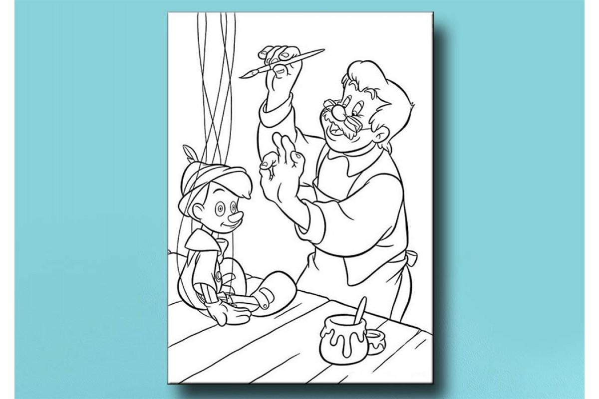 Çocuklar için renkli boyama tablo bym51 (boyama kalem seti hediyeli)