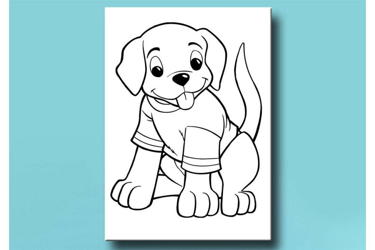 Çocuklar için renkli boyama tablo bym52 (boyama kalem seti hediyeli)