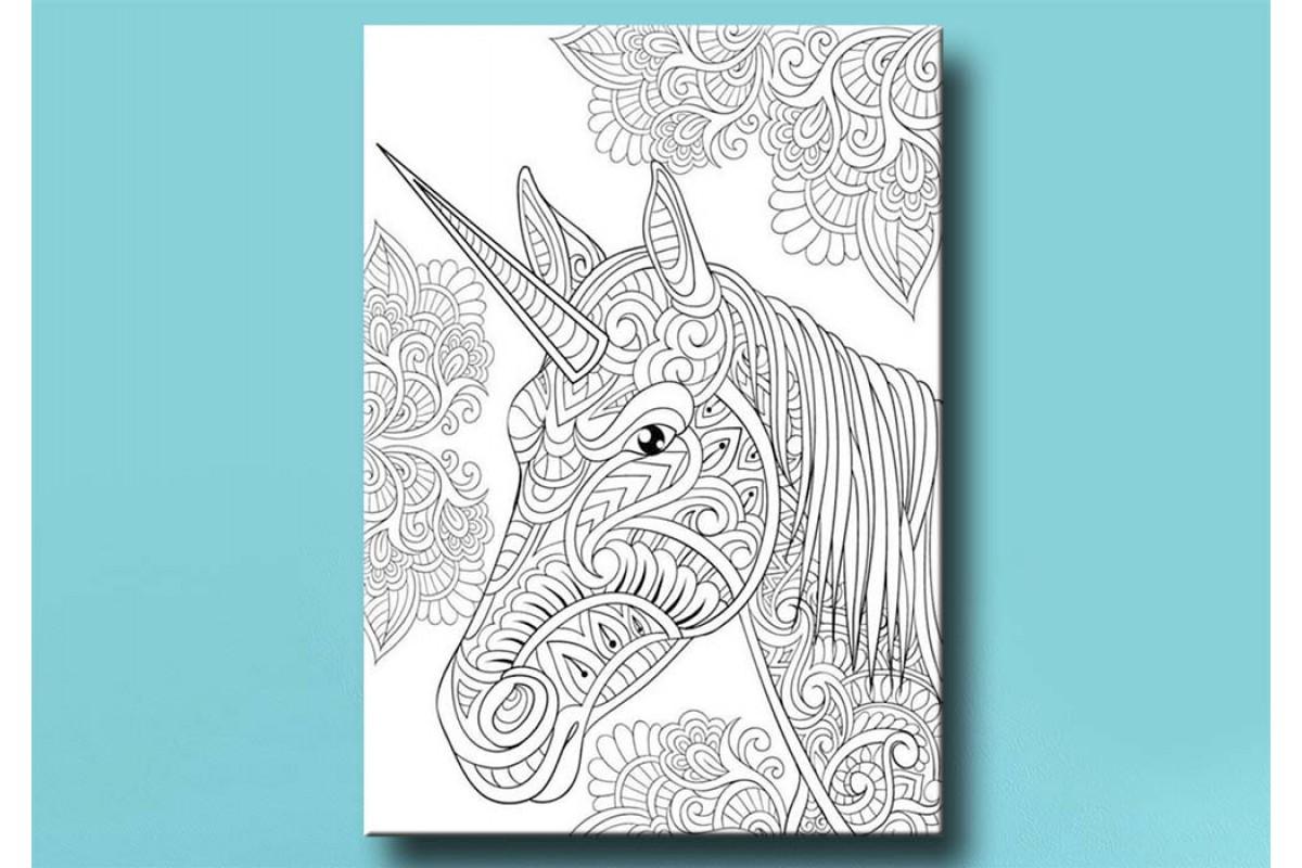 Yetişkinler İçin renkli boyama Tablo bym65 (boyama kalem seti hediyeli)